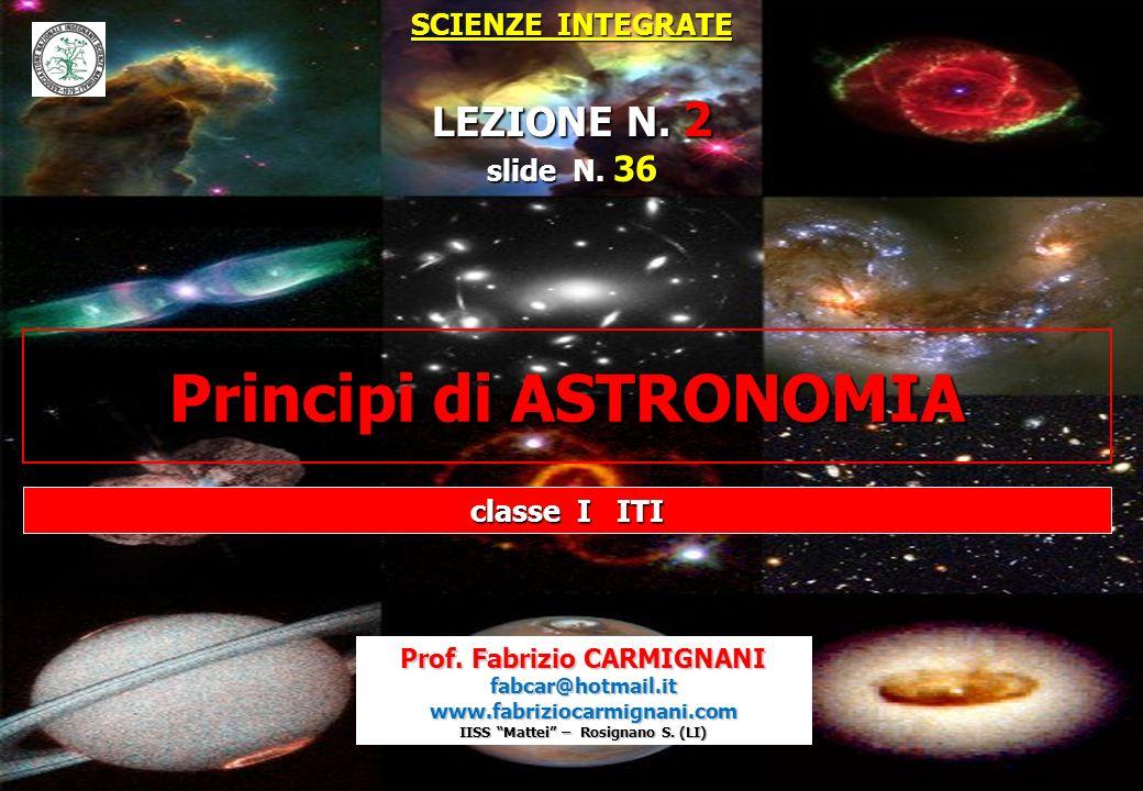 Principi di ASTRONOMIA
