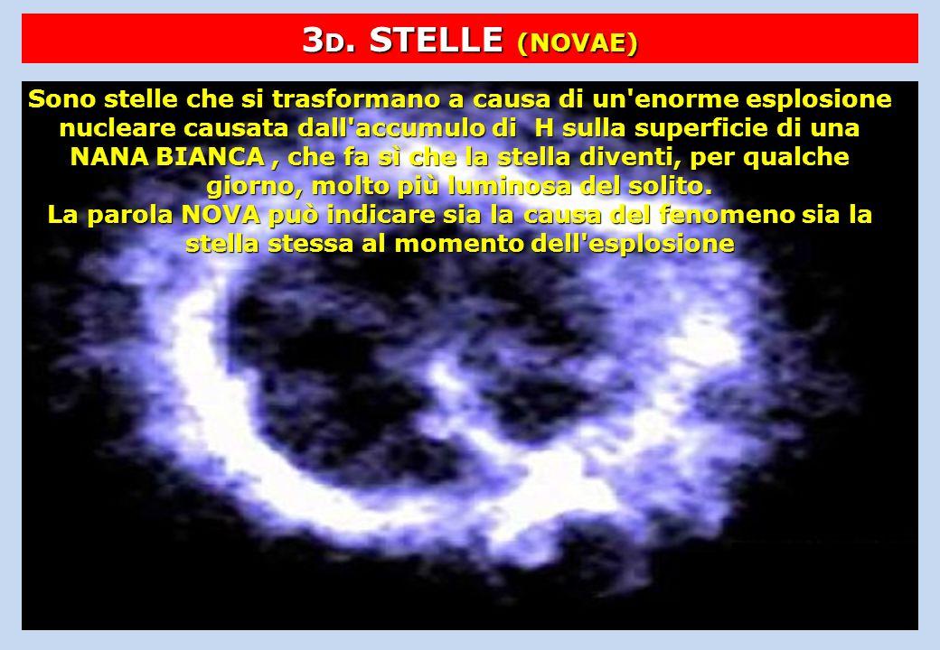 3D. STELLE (NOVAE)