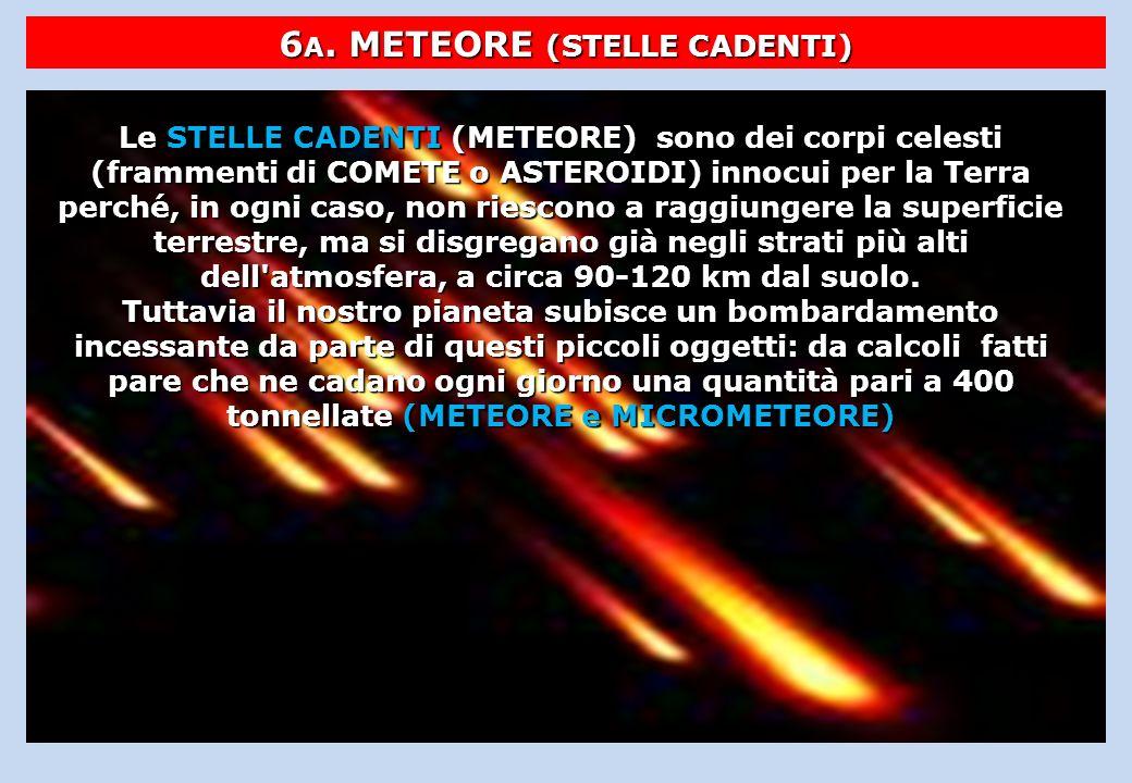 6A. METEORE (STELLE CADENTI)