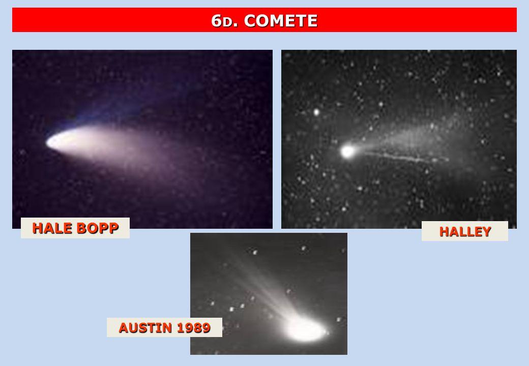 6D. COMETE HALE BOPP HALLEY AUSTIN 1989