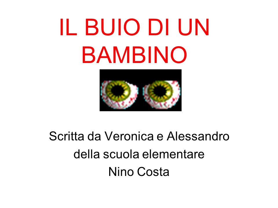 Scritta da Veronica e Alessandro della scuola elementare Nino Costa