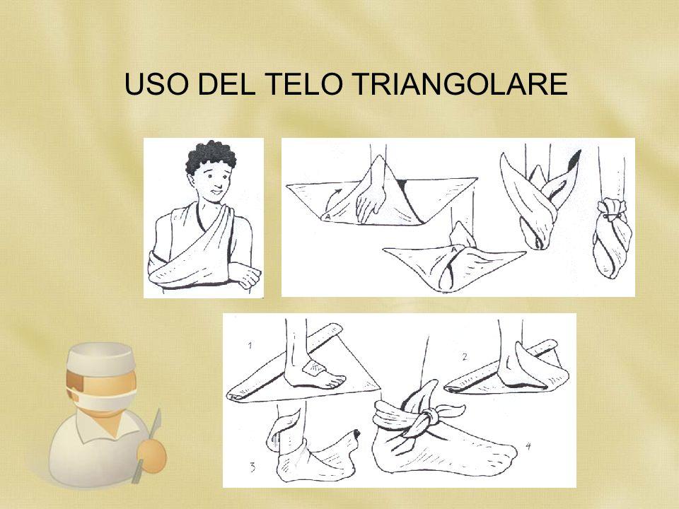 USO DEL TELO TRIANGOLARE