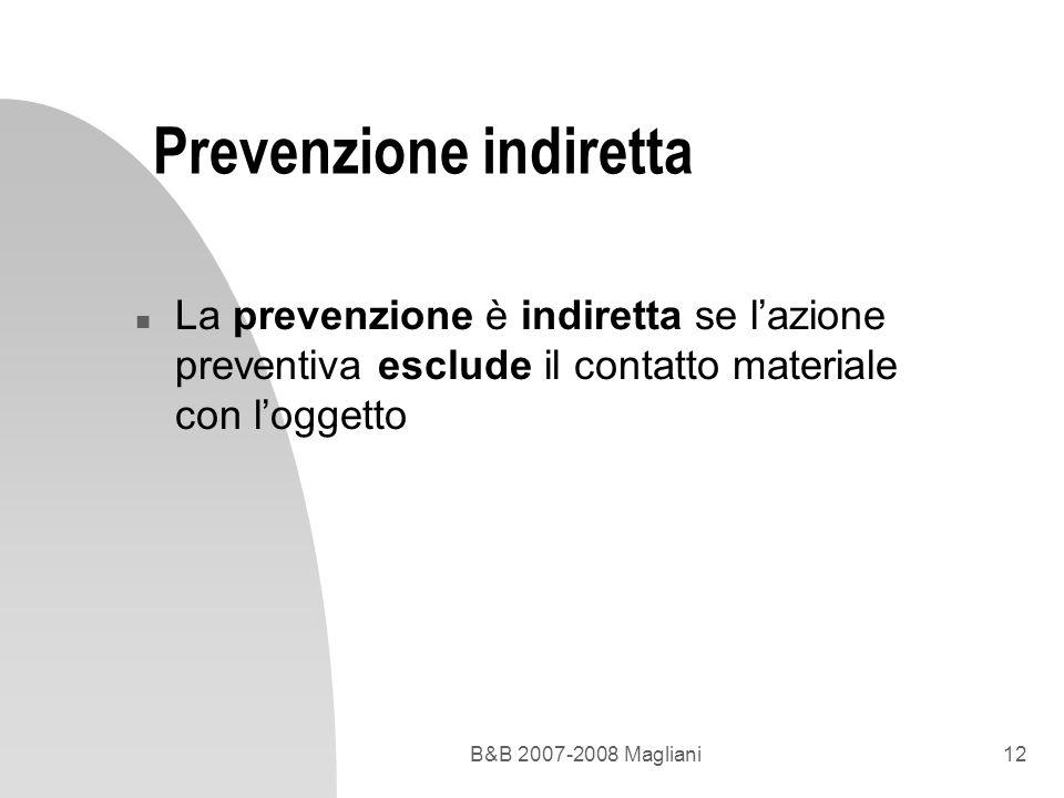 Prevenzione indiretta