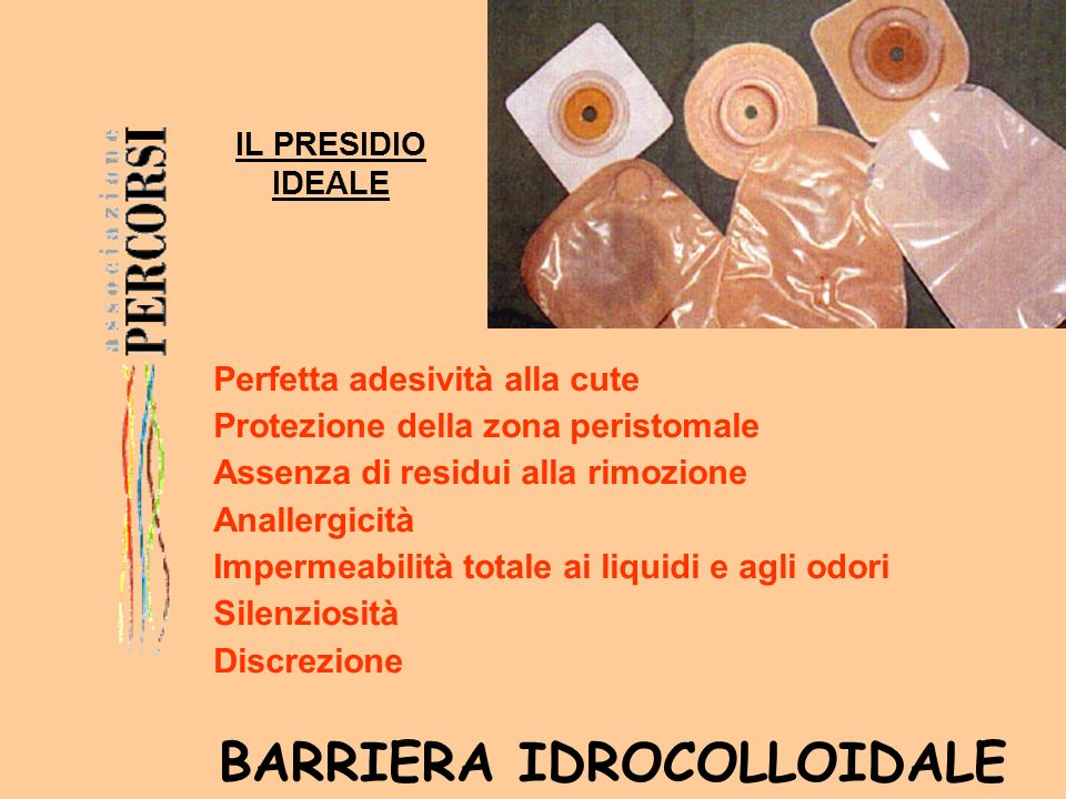 BARRIERA IDROCOLLOIDALE