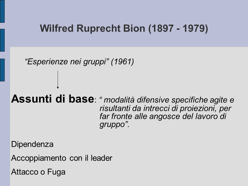 Wilfred Ruprecht Bion (1897 - 1979)‏