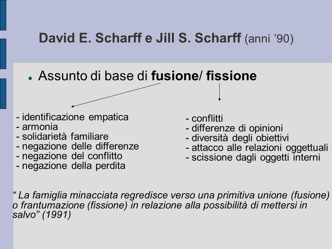 David E. Scharff e Jill S. Scharff (anni '90)
