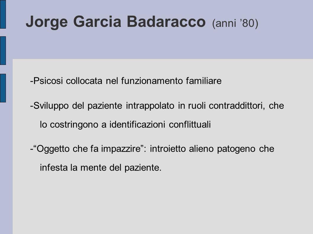 Jorge Garcia Badaracco (anni '80)