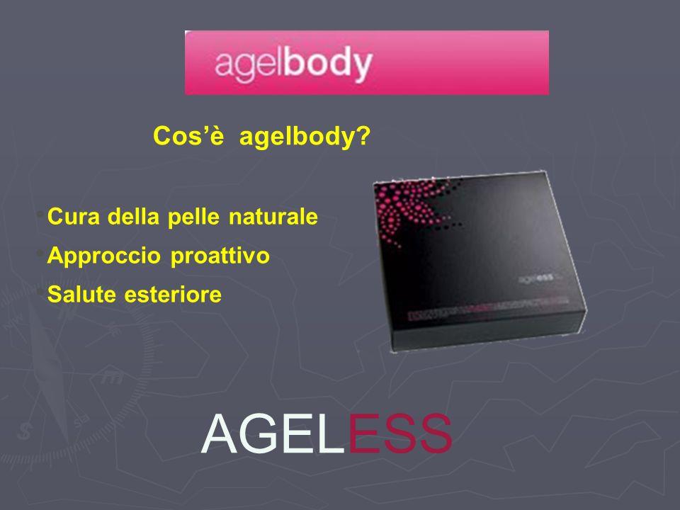 AGELESS Cos'è agelbody Cura della pelle naturale Approccio proattivo