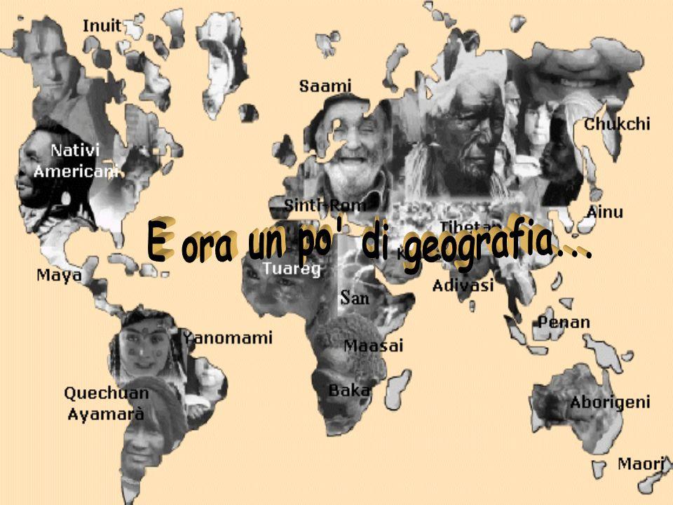 E ora un po di geografia...