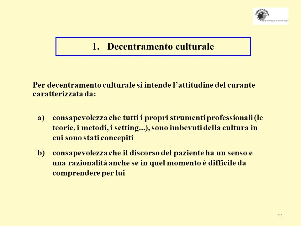 Decentramento culturale