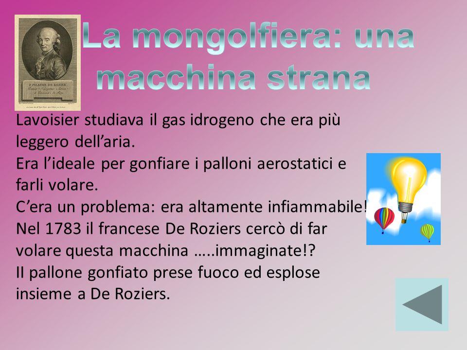 La mongolfiera: una macchina strana