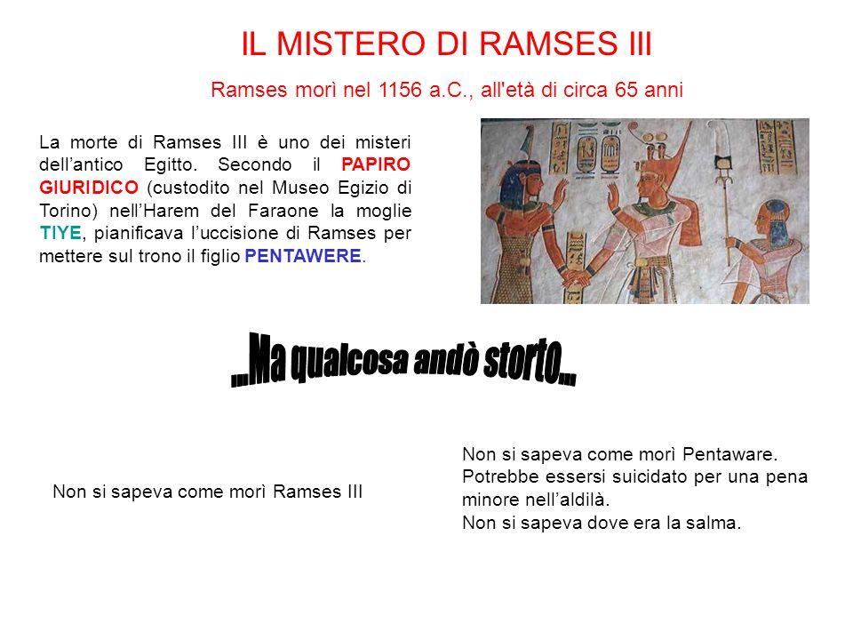 IL MISTERO DI RAMSES III