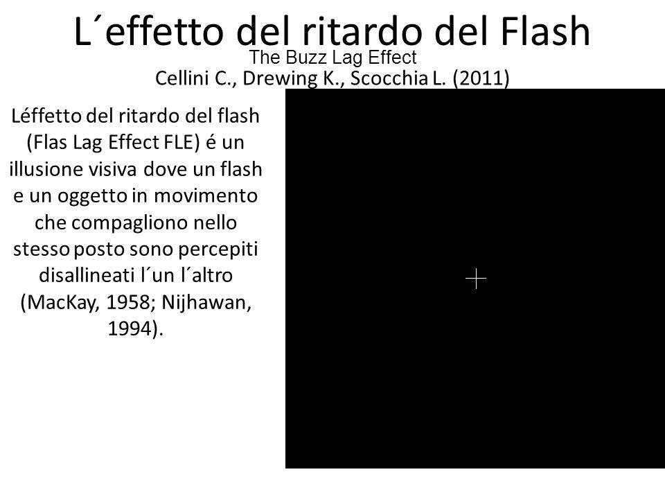L´effetto del ritardo del Flash