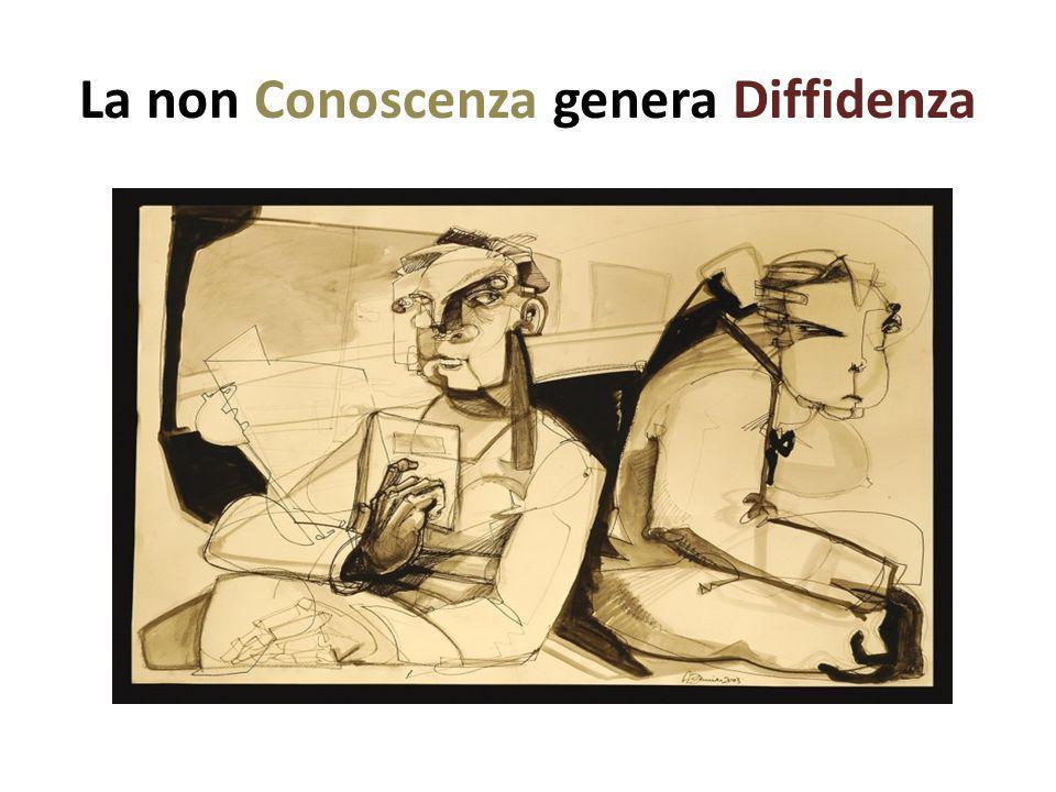 La non Conoscenza genera Diffidenza