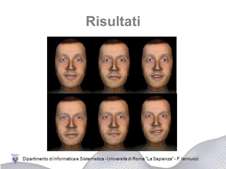 Risultati Dipartimento di Informatica e Sistemistica - Università di Roma La Sapienza - F.