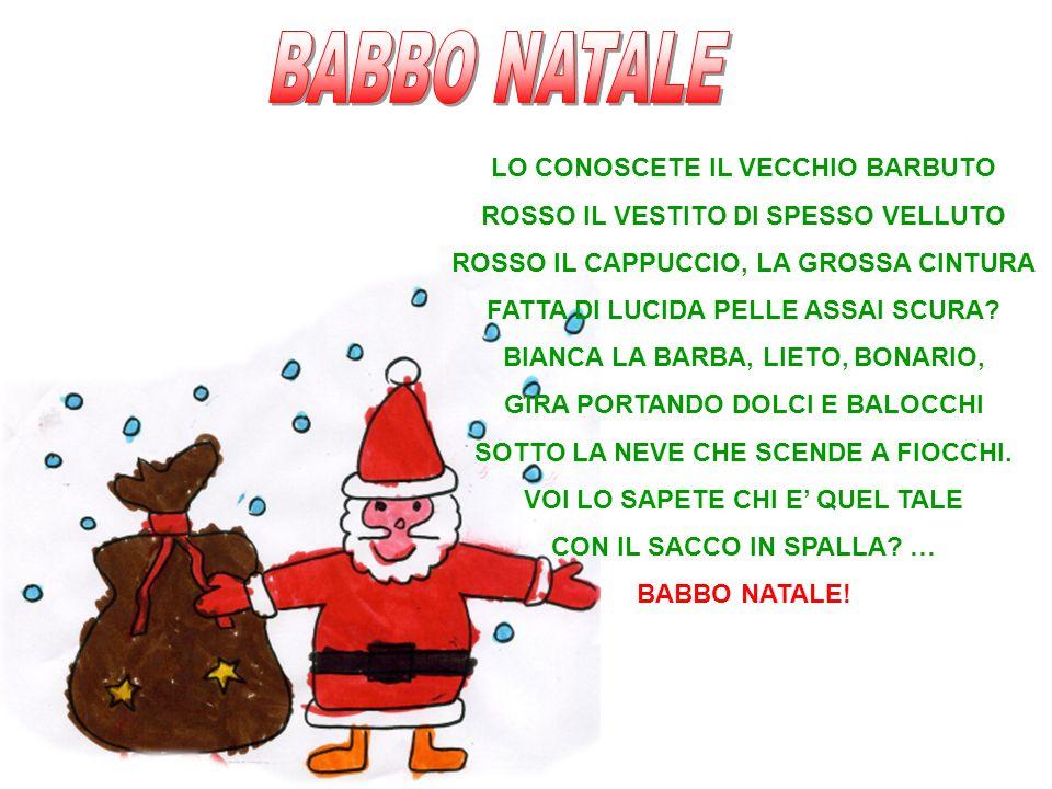 BABBO NATALE LO CONOSCETE IL VECCHIO BARBUTO
