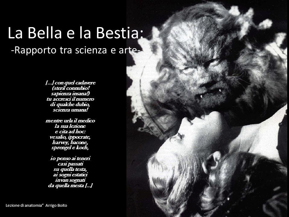 La Bella e la Bestia: -Rapporto tra scienza e arte-