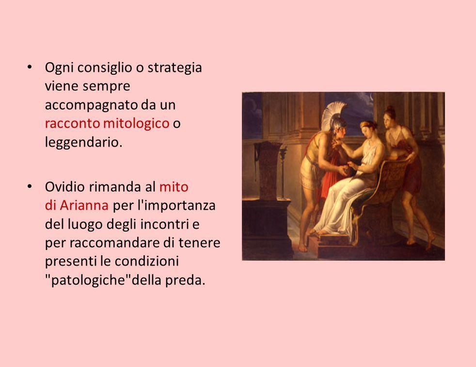 Ogni consiglio o strategia viene sempre accompagnato da un racconto mitologico o leggendario.