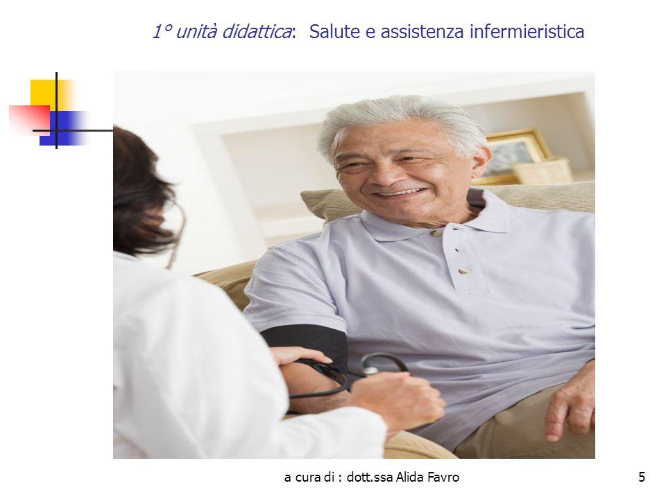 1° unità didattica: Salute e assistenza infermieristica