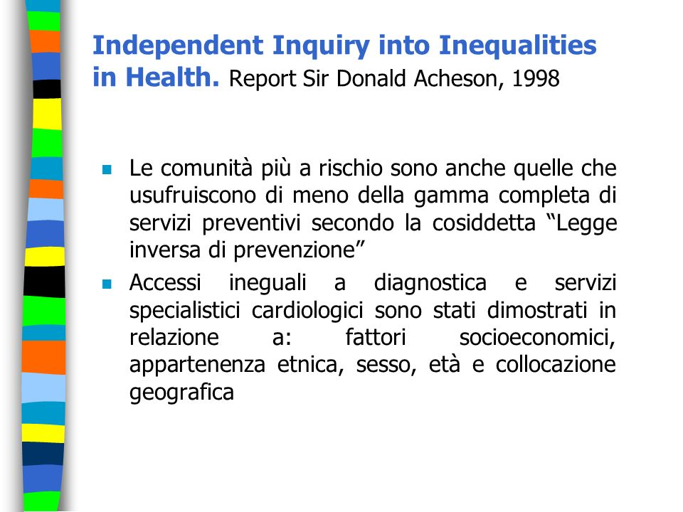 Independent Inquiry into Inequalities in Health