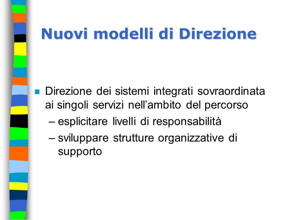 Nuovi modelli di Direzione