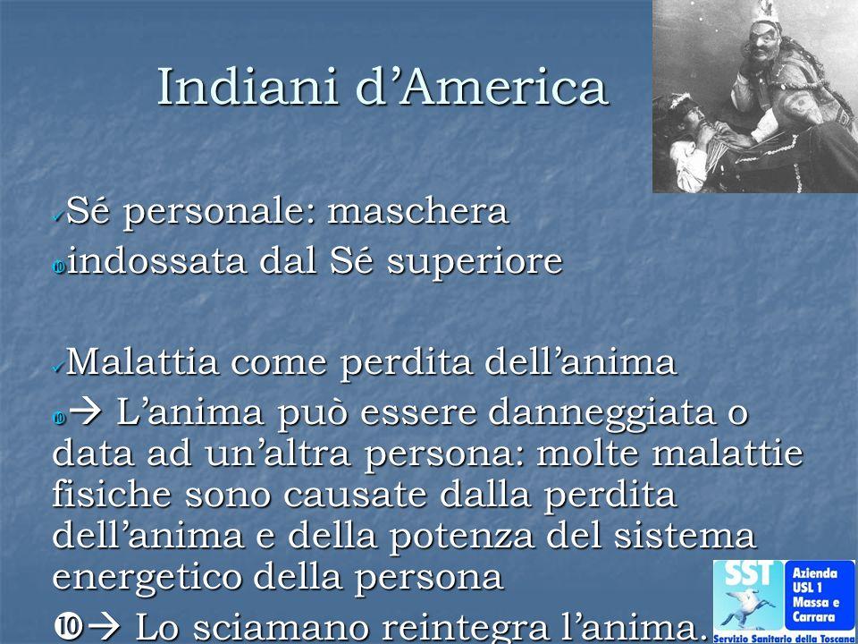 Indiani d'America Sé personale: maschera indossata dal Sé superiore
