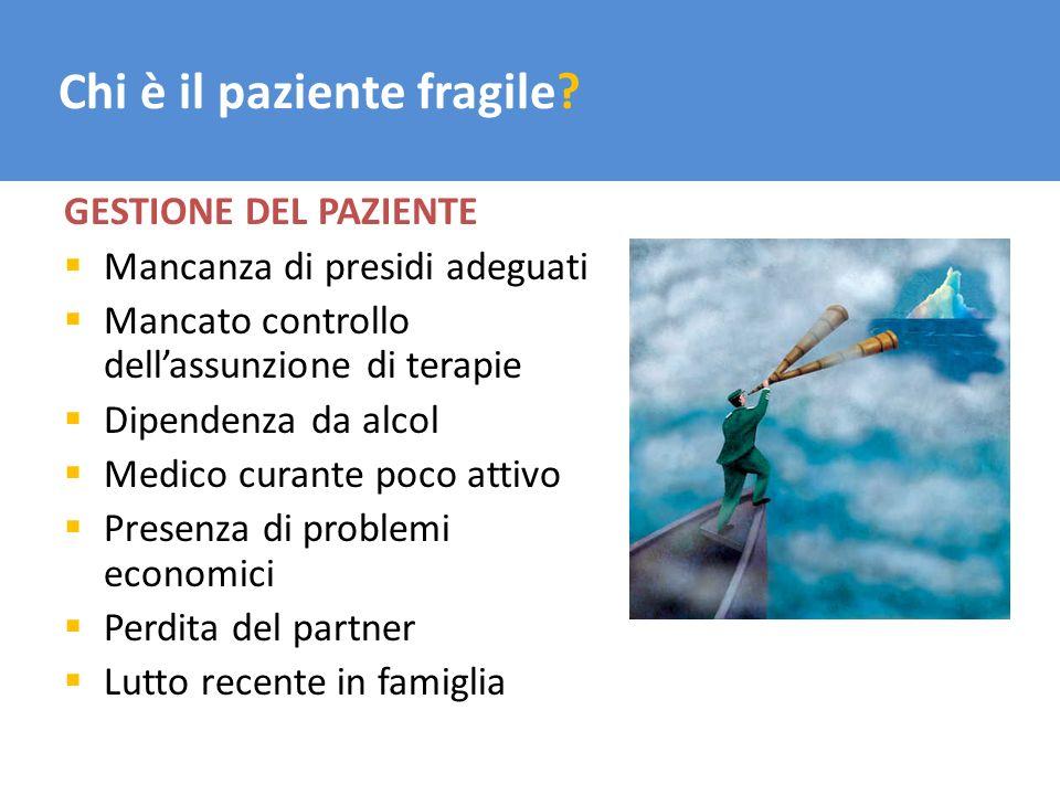 Chi è il paziente fragile