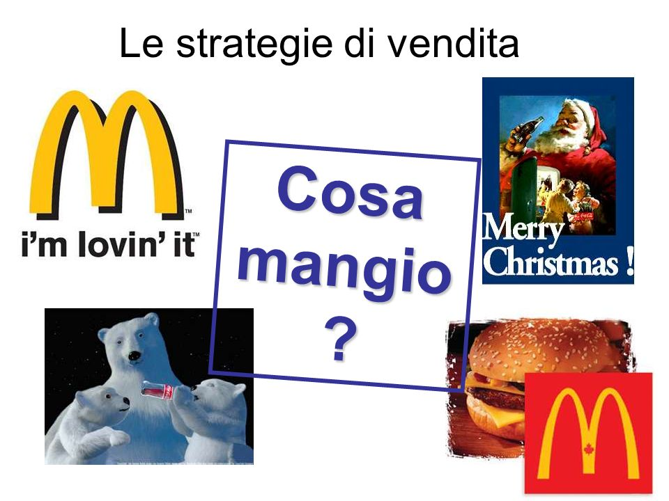 Le strategie di vendita