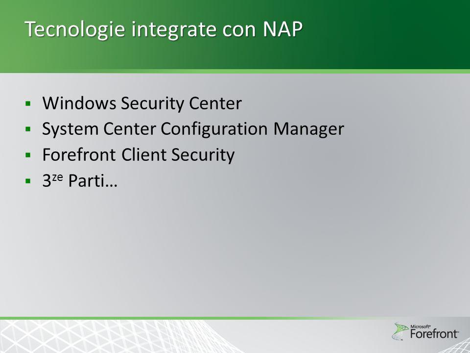 Tecnologie integrate con NAP