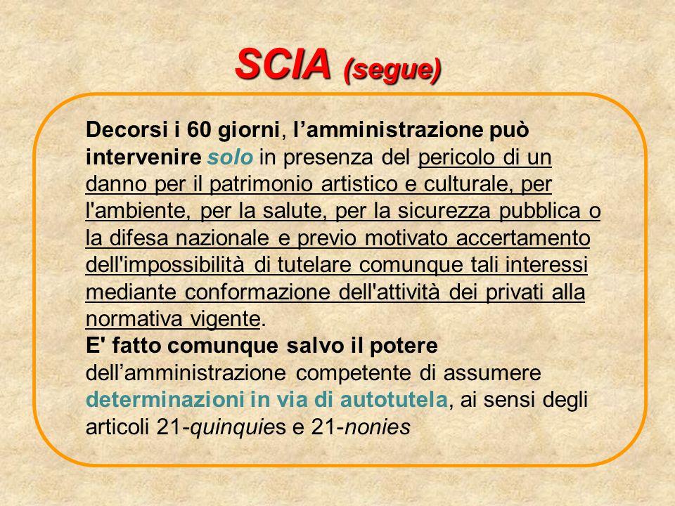 SCIA (segue)