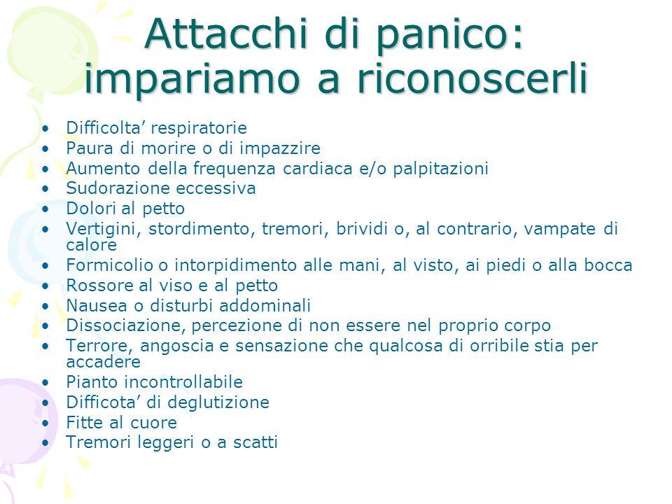 Attacchi di panico: impariamo a riconoscerli