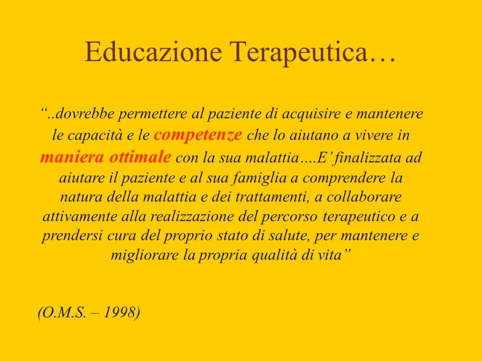 Educazione Terapeutica…