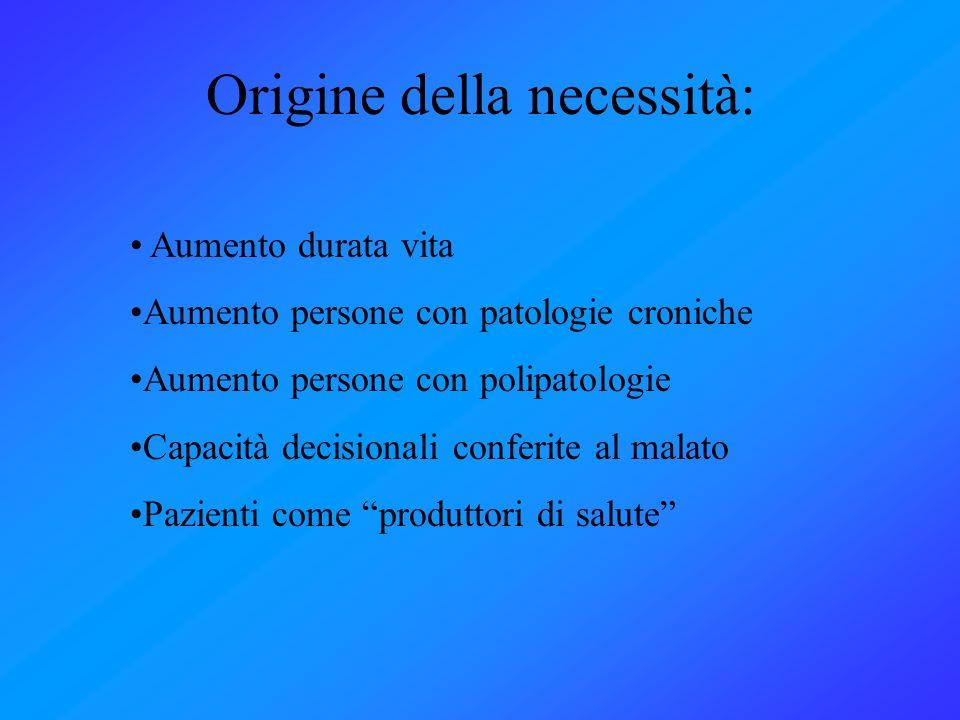 Origine della necessità: