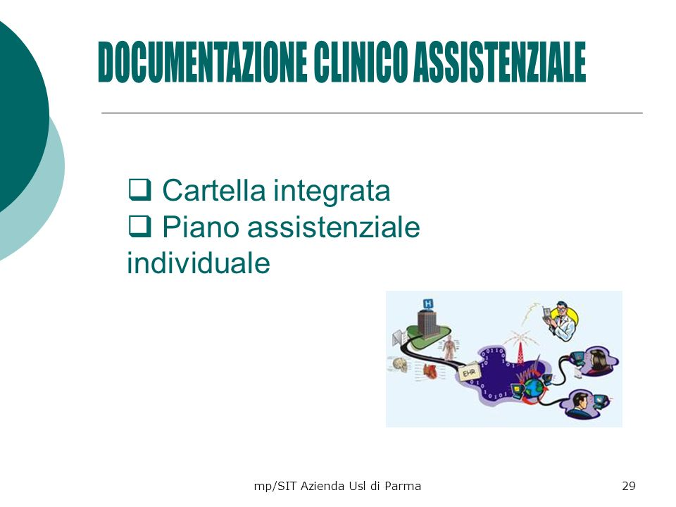 DOCUMENTAZIONE CLINICO ASSISTENZIALE