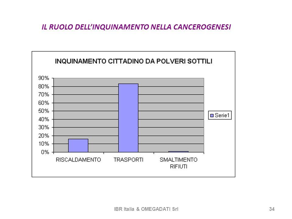 IL RUOLO DELL'INQUINAMENTO NELLA CANCEROGENESI