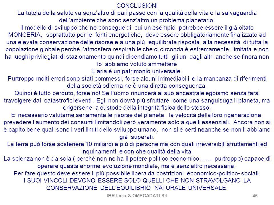 IBR Italia & OMEGADATI Srl