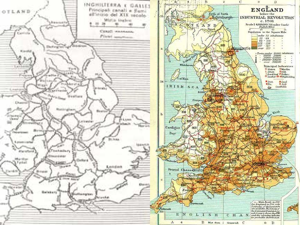 - Rete dei canali inglesi