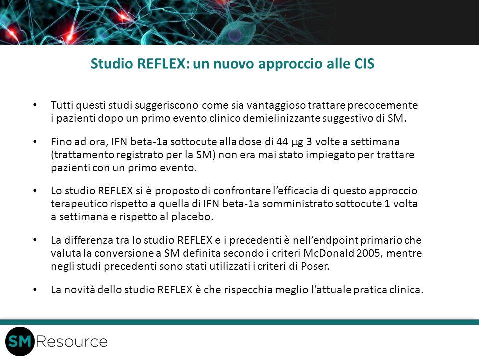 Studio REFLEX: un nuovo approccio alle CIS