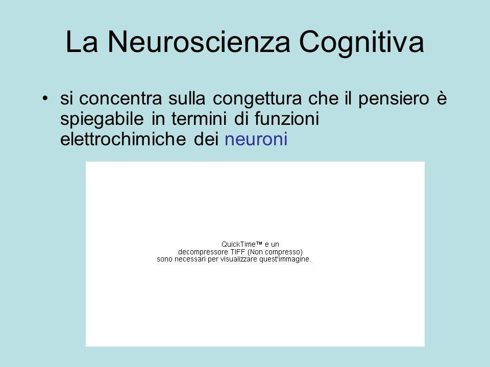 La Neuroscienza Cognitiva