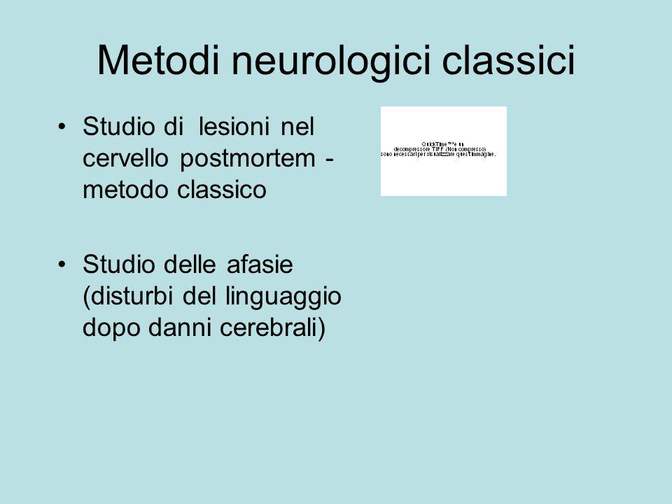 Metodi neurologici classici