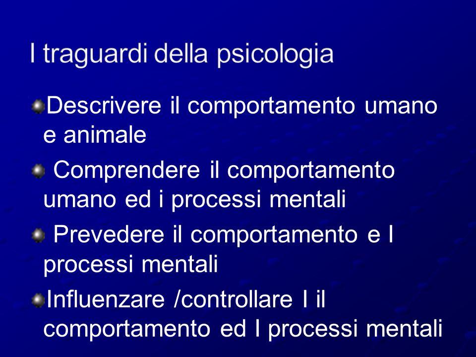I traguardi della psicologia