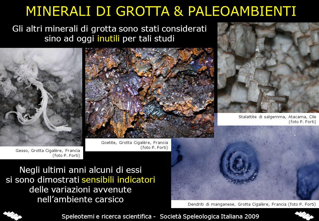 CALCITE - GESSO & VARIAZIONI CLIMATICHE