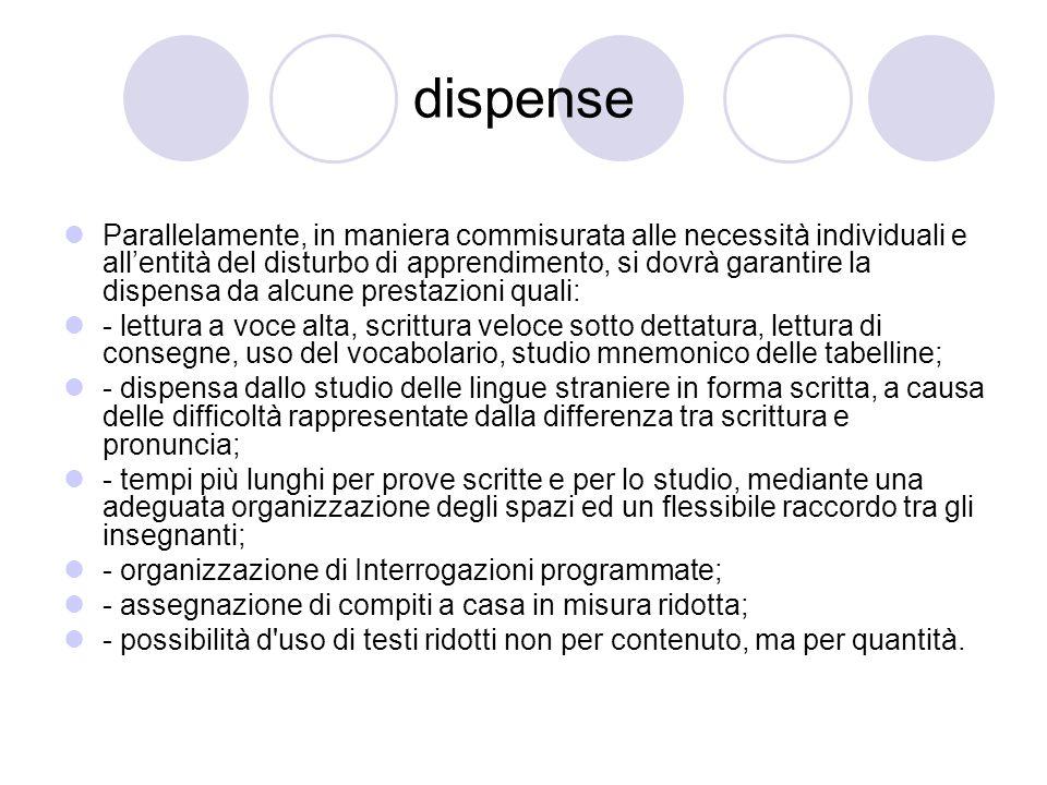 dispense