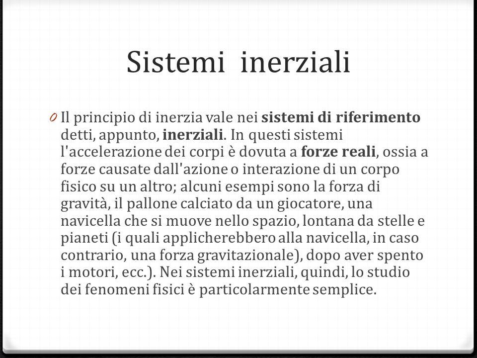 Sistemi inerziali