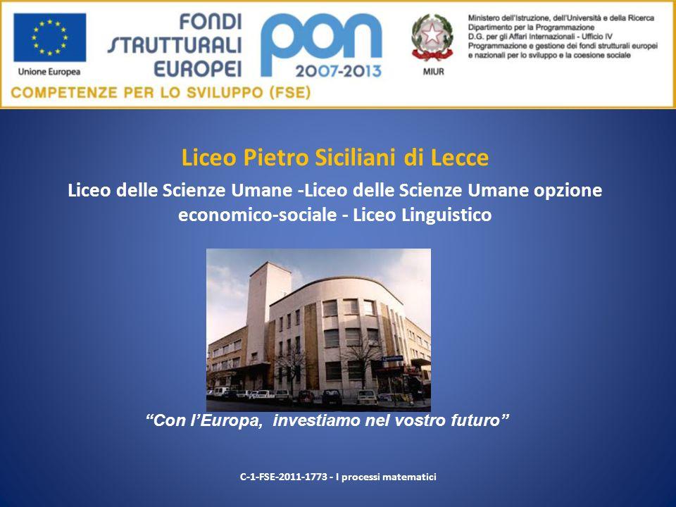 Liceo Pietro Siciliani di Lecce