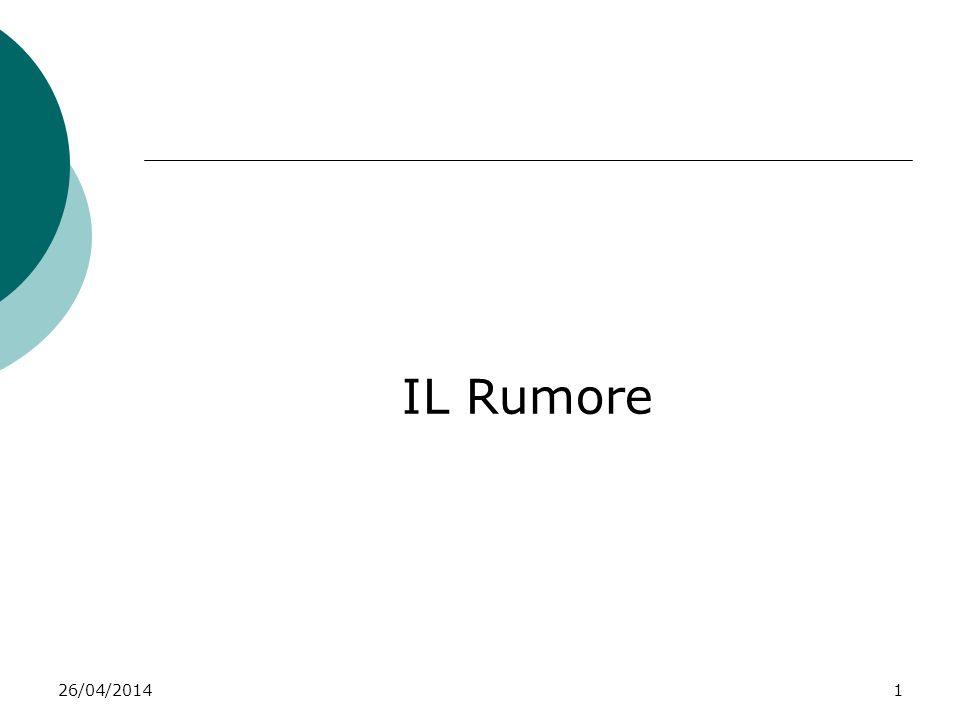 IL Rumore 29/03/2017