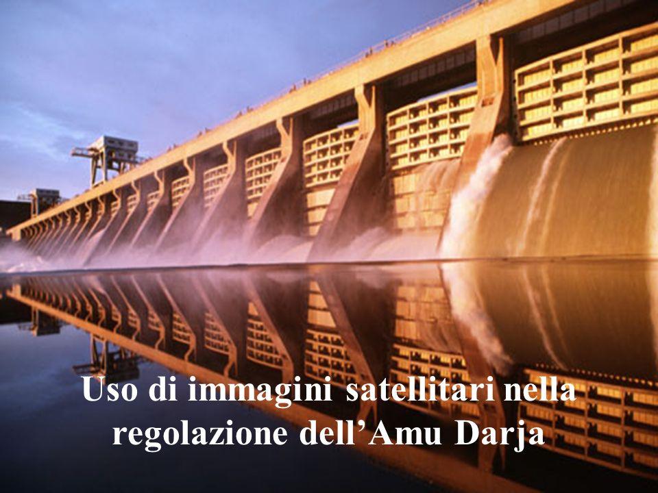Uso di immagini satellitari nella regolazione dell'Amu Darja