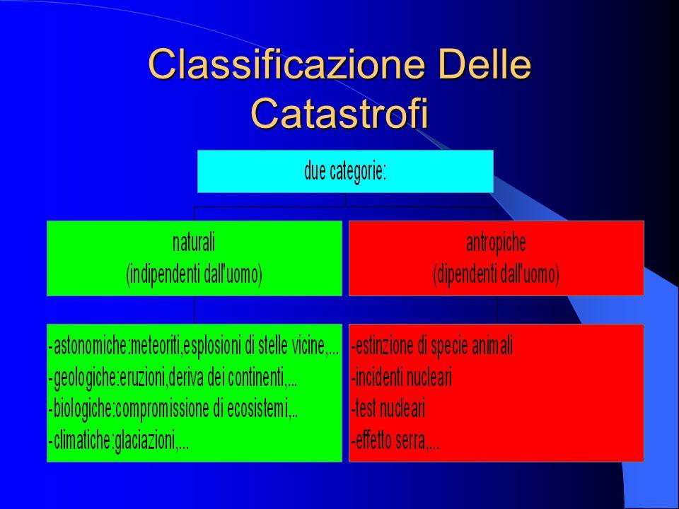 Classificazione Delle Catastrofi