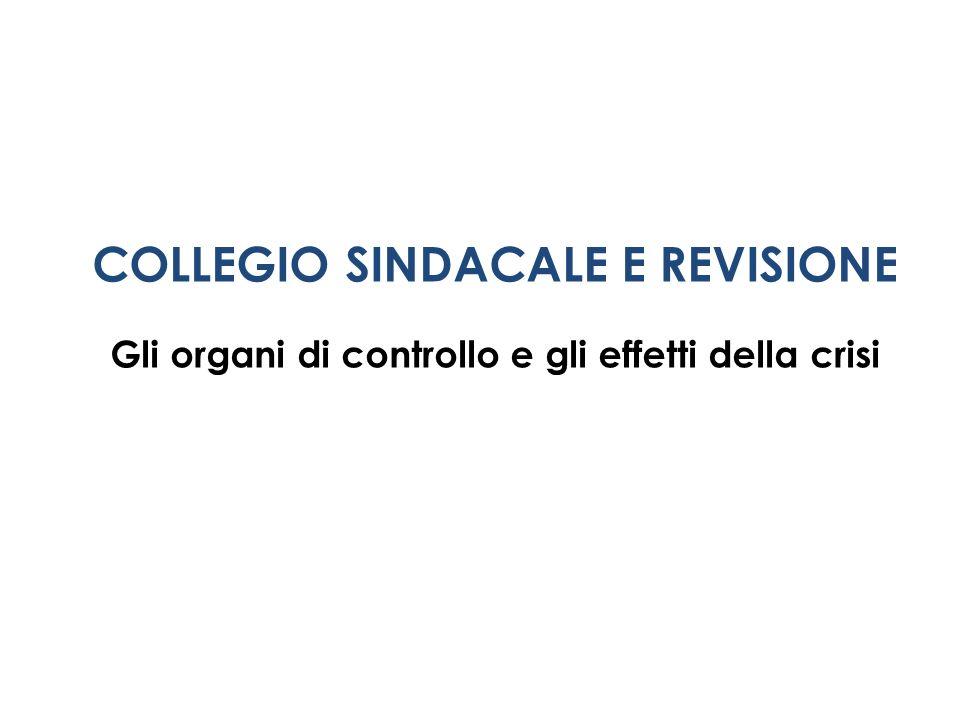 COLLEGIO SINDACALE E REVISIONE