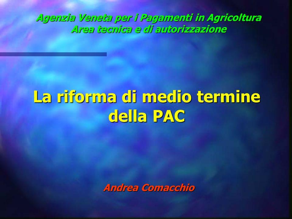 La riforma di medio termine della PAC